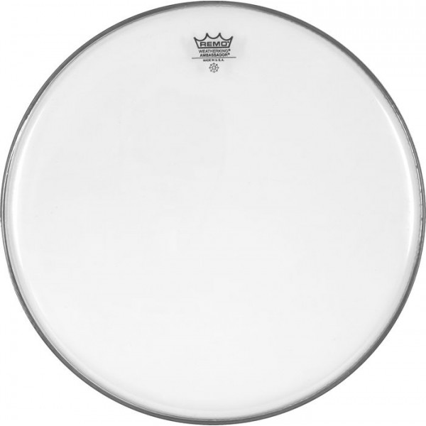 Remo 18'' Ambassador Clear Bass Drum